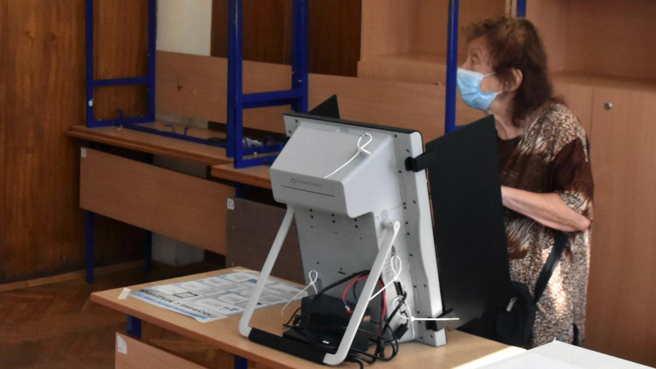 ДБ поиска от ЦИК проверка на машините за гласуване