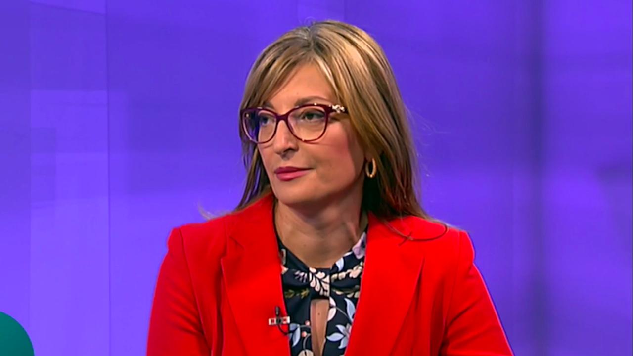 Екатерина Захариева: Проф. Герджиков подава ръка, не създава напрежение