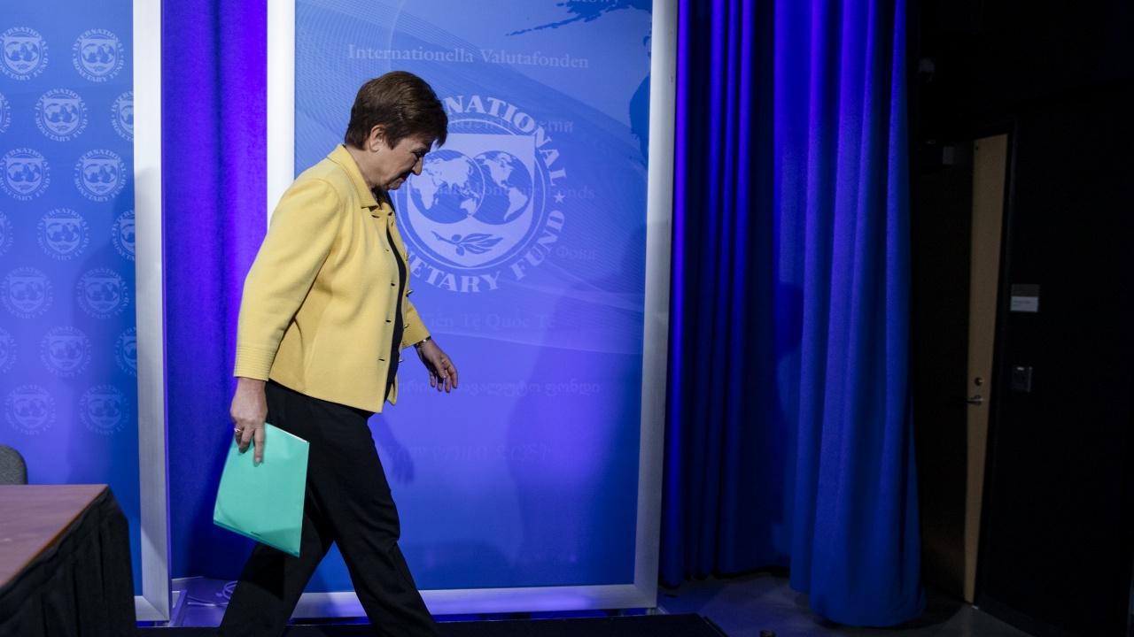 Кристалина Георгиева на среща с УС на МВФ