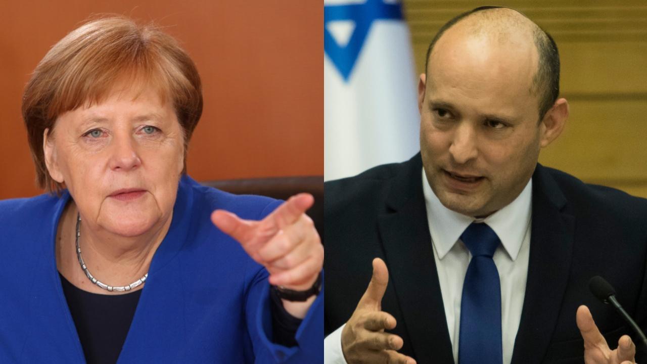 Ангела Меркел влезе в спор с Нафтали Бенет при последната си визита в Израел
