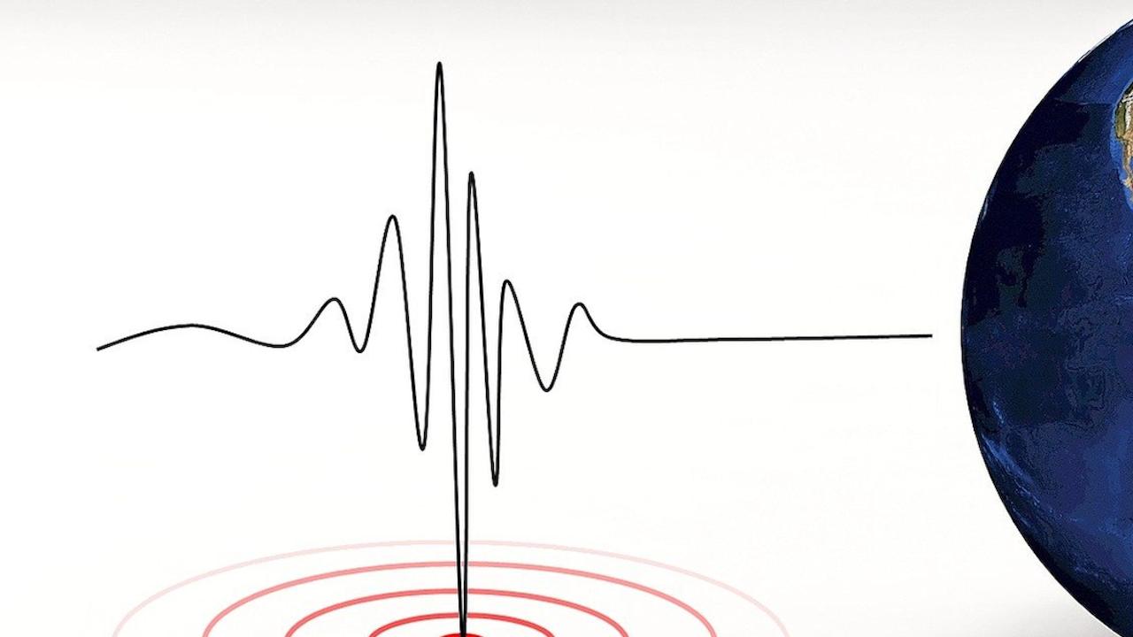 Земетресение край Айтос