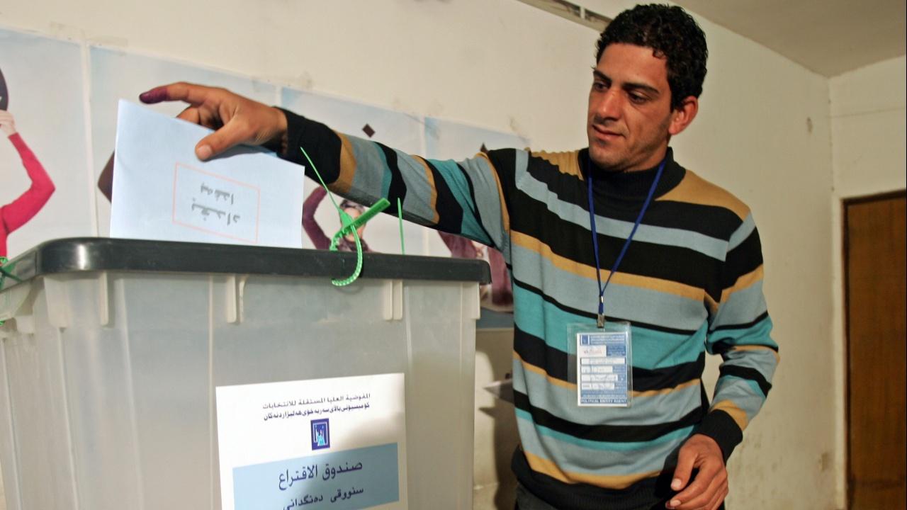 Рекордно ниска избирателна активност на парламентарния вот в Ирак