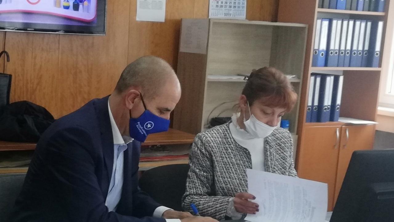 Цветанов е водач на листата на Национално обединение на десницата в Благоевград