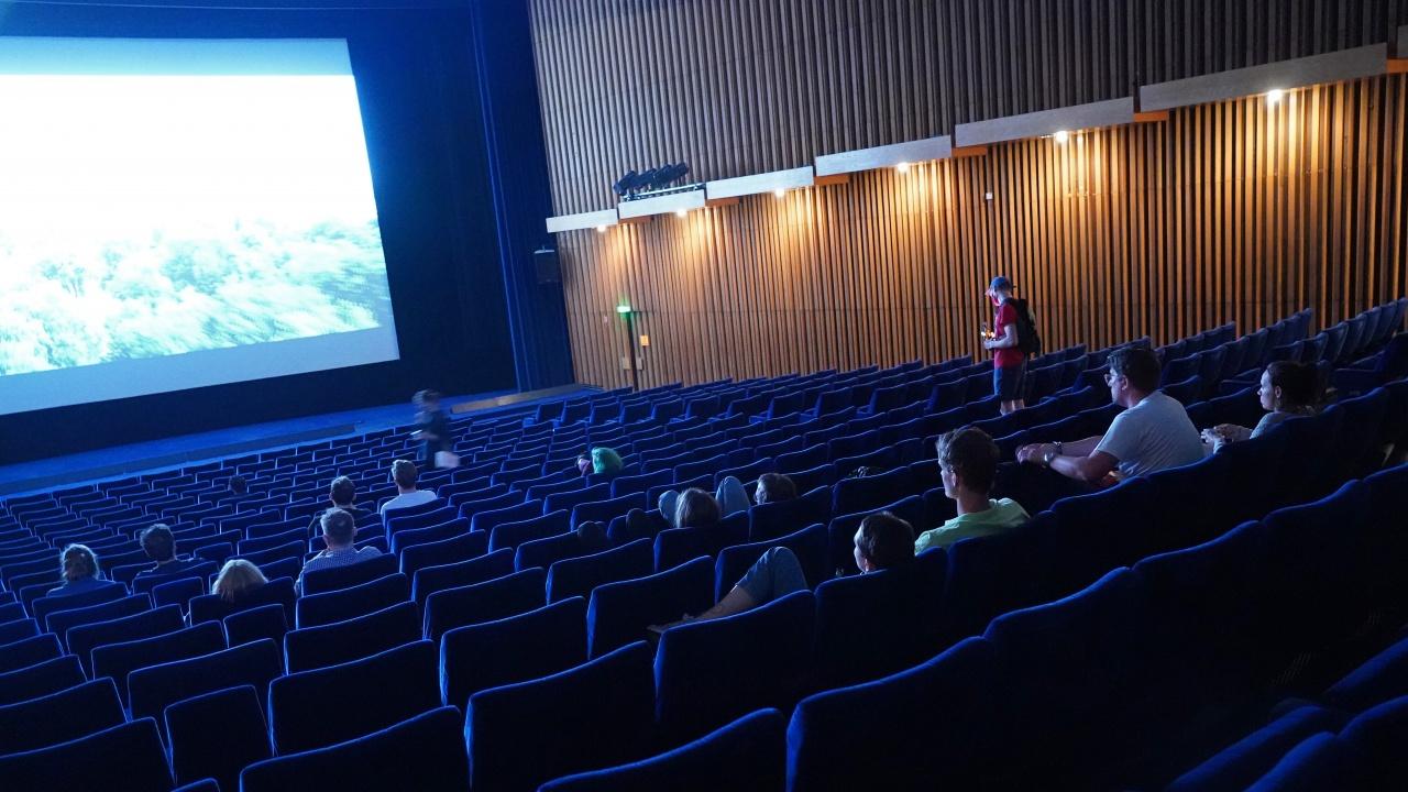 Киното с най-голям екран в света е в Германия