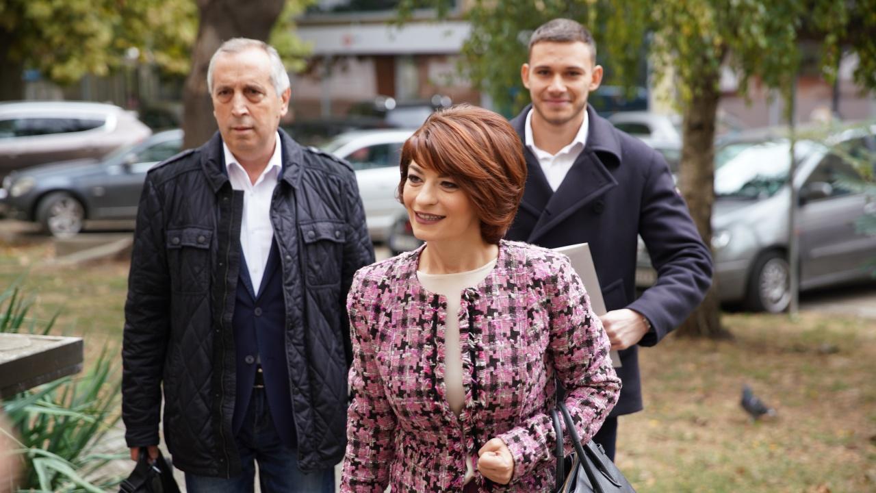 Десислава Атанасова и Георги Кръстев регистрираха листата на ГЕРБ – СДС в Русе
