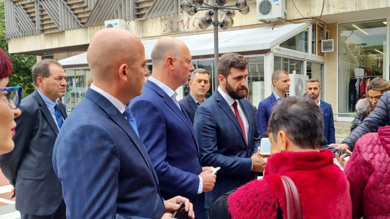 ГЕРБ-СДС регистрира листата си с кандидати за народни представители за област Благоевград