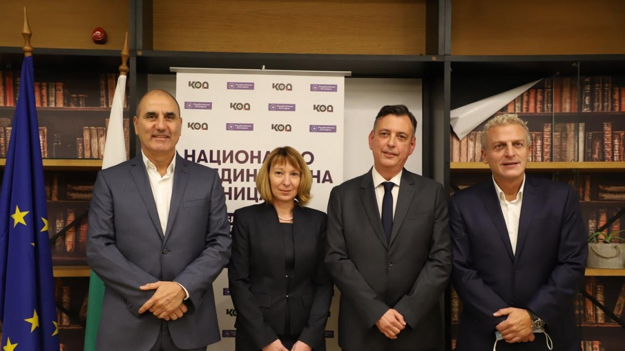 Горан Благоев и Ивелина Георгиева се регистрираха за президентските избори