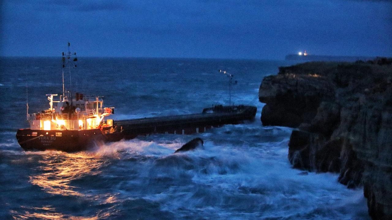 Направени са анализи по биологични елементи за качество на водите в района на авариралия кораб