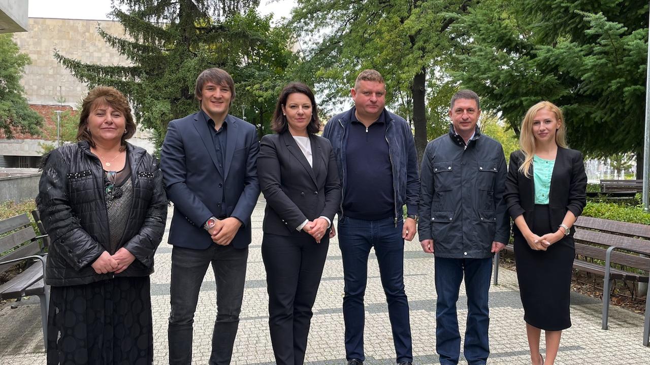 ГЕРБ - СДС в област Кюстендил регистрира листата си с водач Христо Терзийски
