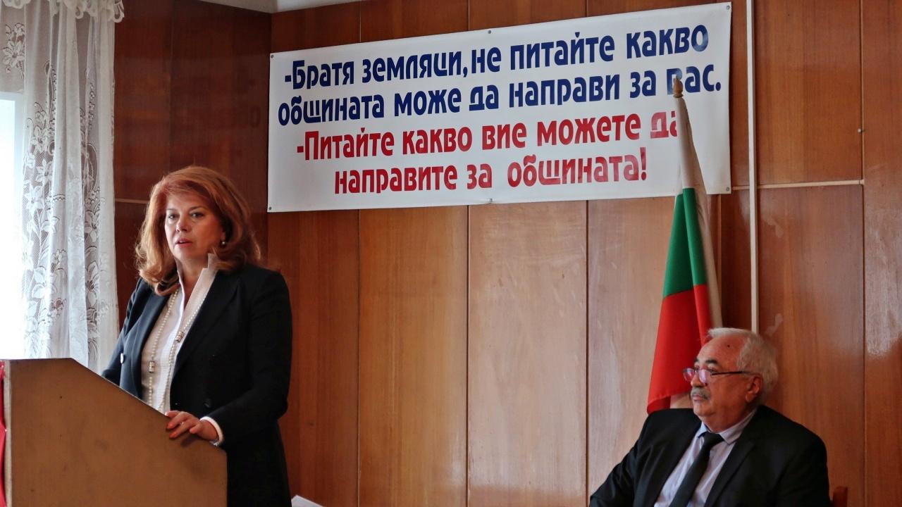 Целеви средства за българското село поиска вицепрезидентът