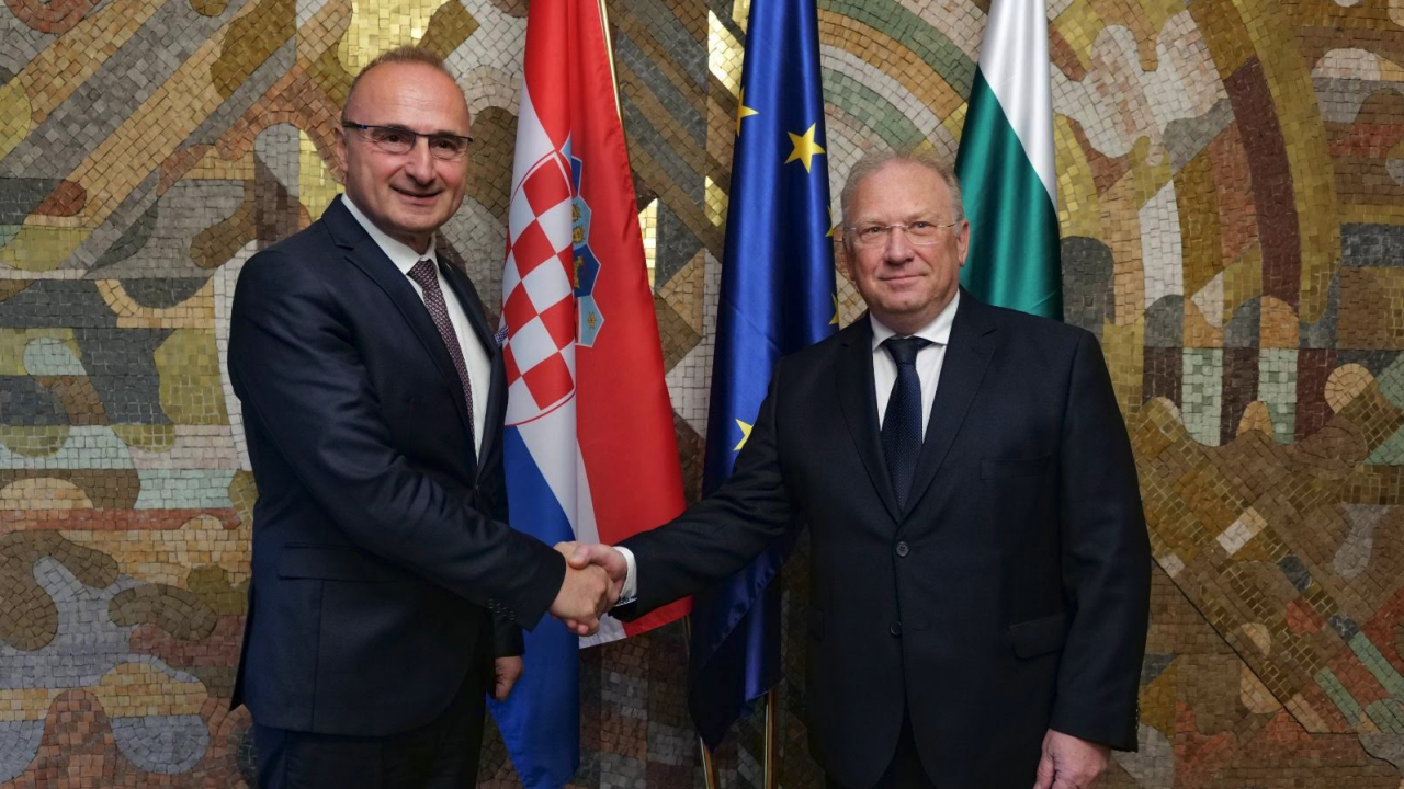 България и Хърватия потвърдиха желанието за задълбочаване на сътрудничеството и свързаността между двете страни