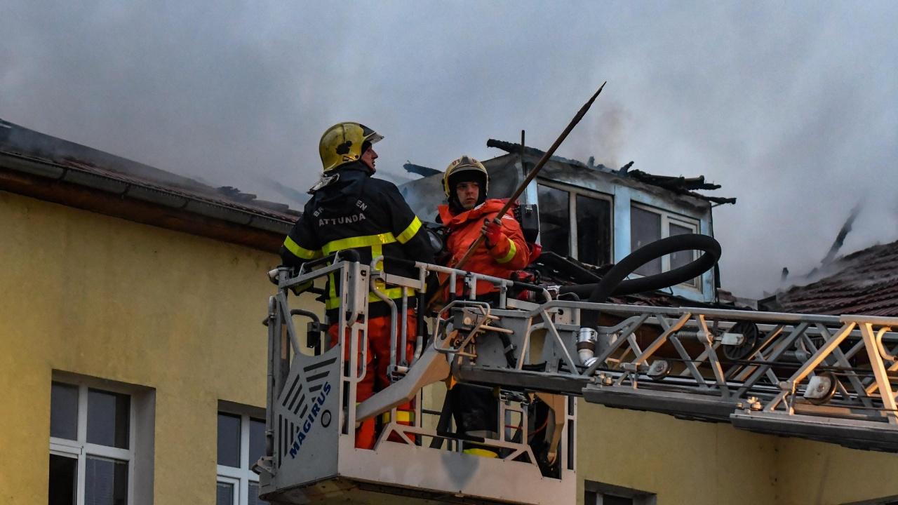 Пациентка запали стая в COVID отделение в Русе
