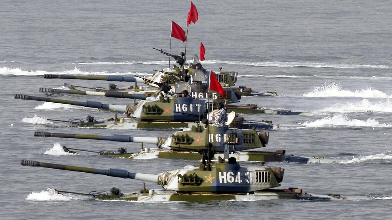 Китай нарече военните си маневри в близост до Тайван справедливи действия