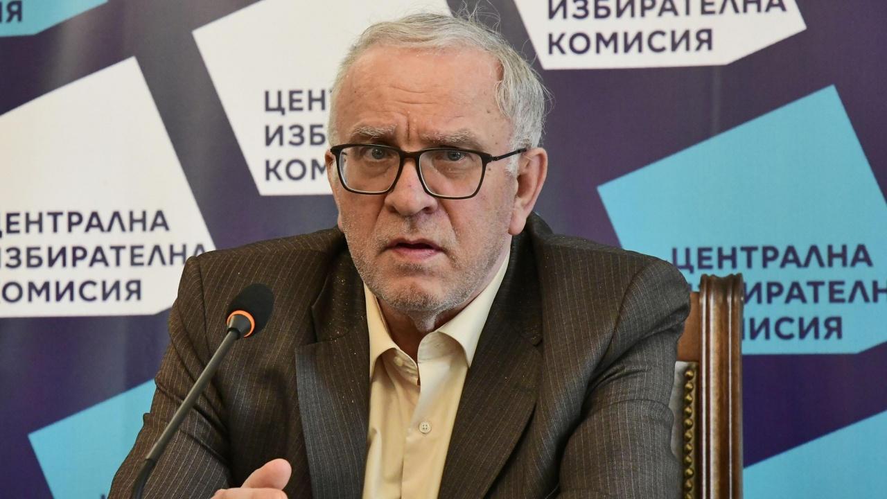 Цветозар Томов: Задачата на ЦИК не е и не бива да бъде отстраняване на участници в изборите