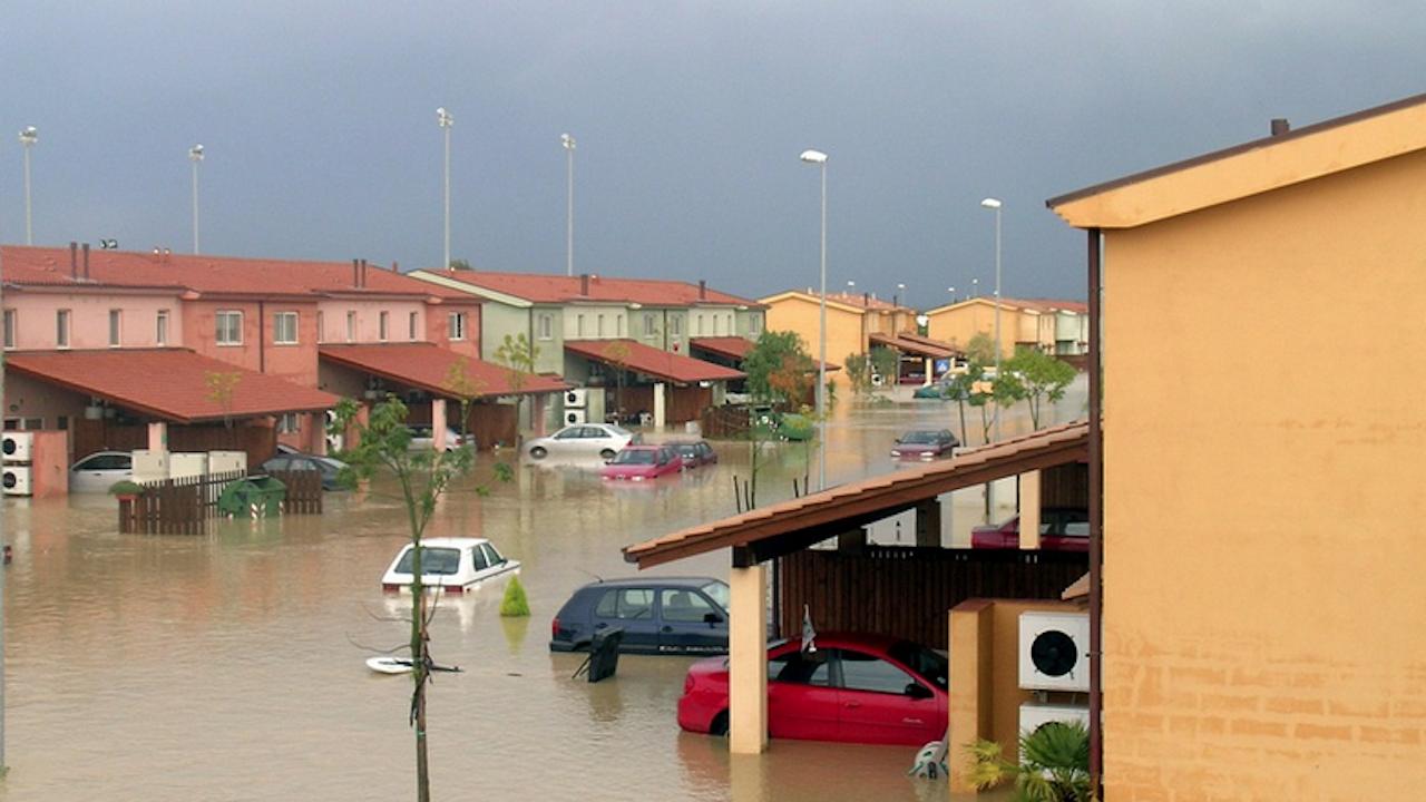 Циклон причини проливни дъждове и наводнения в Гърция