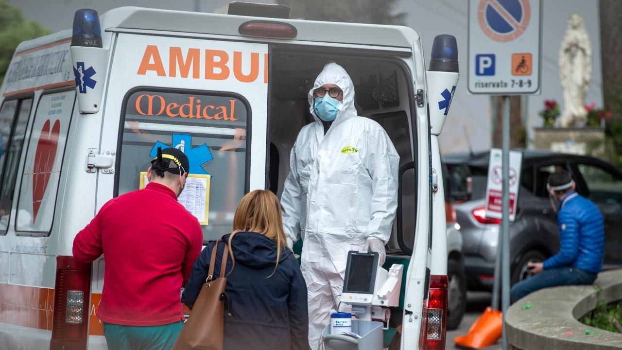 Новите случаи на заразяване с коронавирус в Италия продължават да намаляват