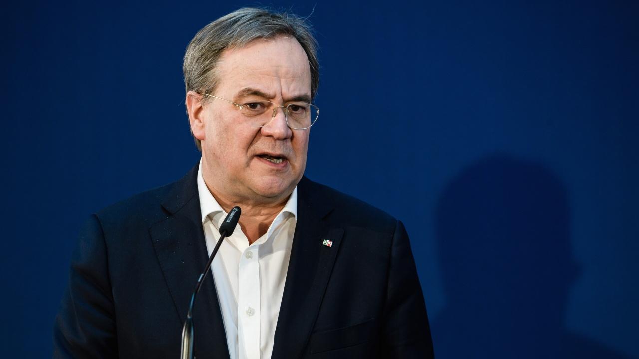 Лашет пое отговорността за провала на консервативния лагер в Германия на парламентарните избори