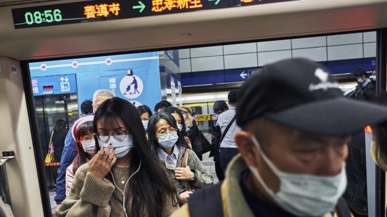 Тайван не регистрира днес нито един заразен или починал от COVID за пръв път от 193 дни