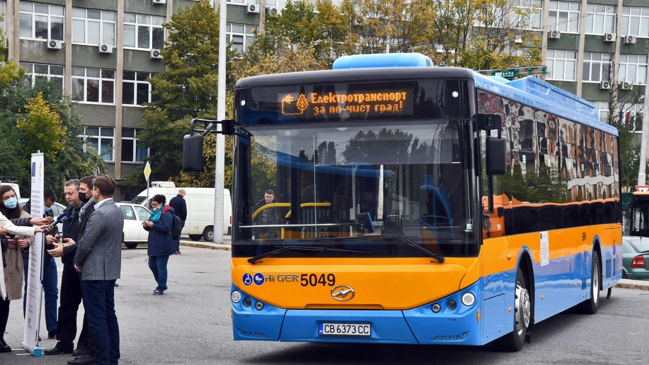В София тръгнаха 30 нови електробуса