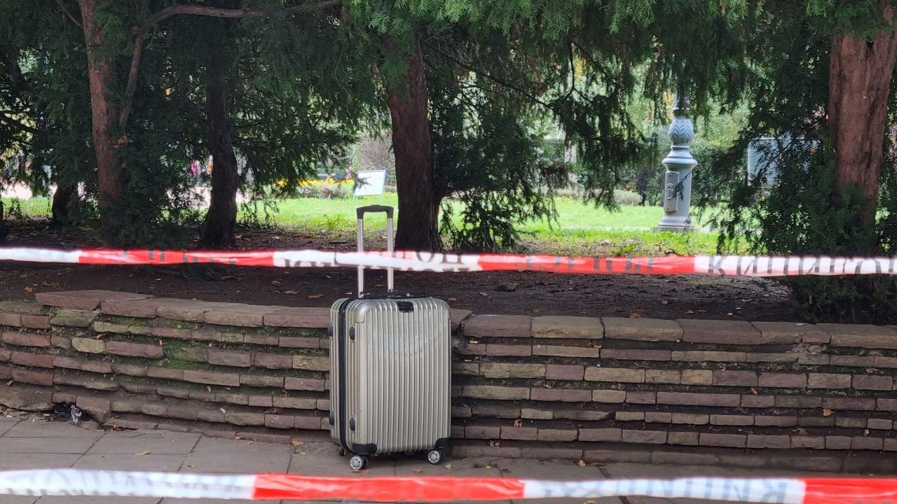 Намериха съмнителен куфар до Централна баня