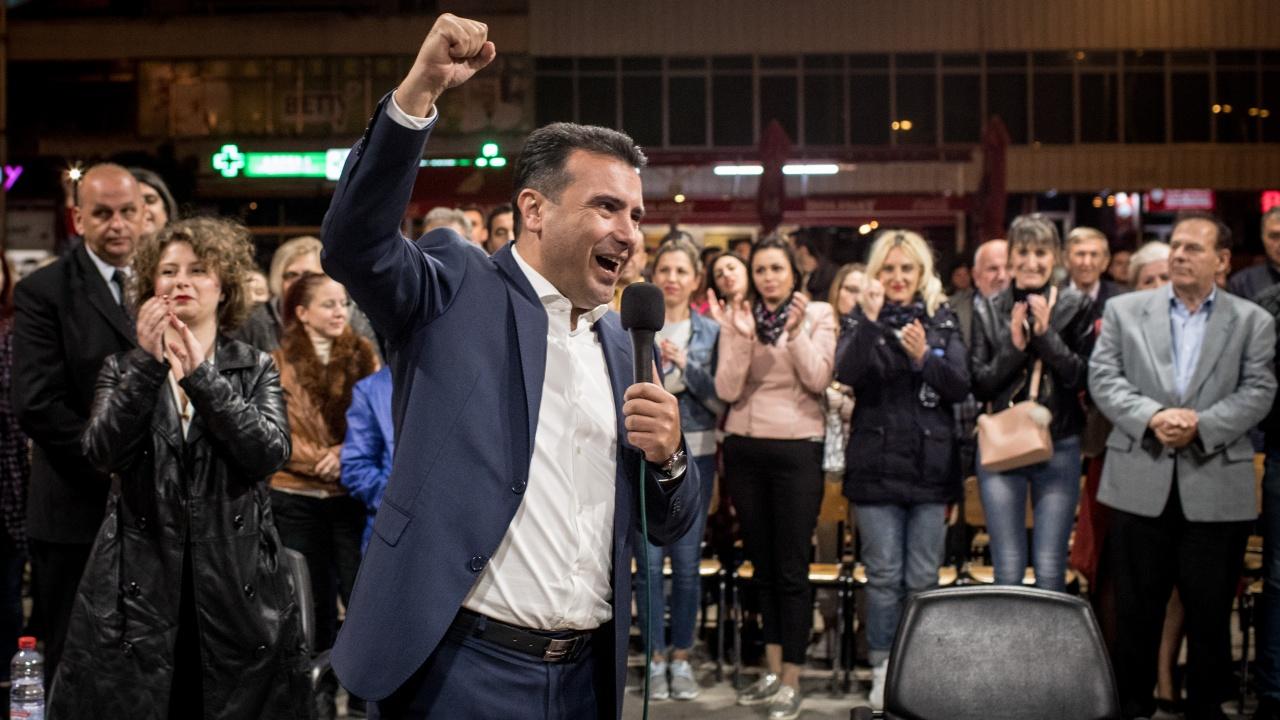 Зоран Заев обяви победа: Народе македонски, успяхме да реализираме изцяло демократични и европейски избори