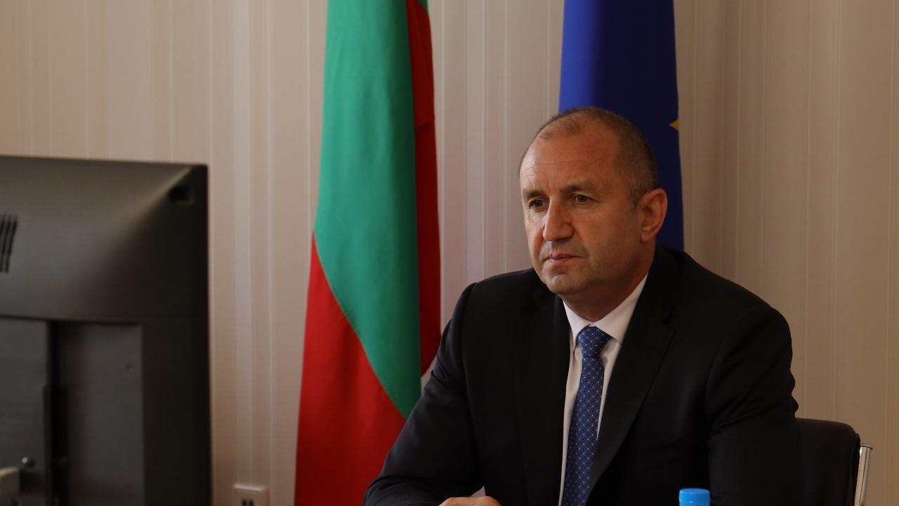 Президентът: Приоритет в мерките на ЕС за високите цени на енергийните ресурси трябва да е защитата на гражданите и малкия и средния бизнес