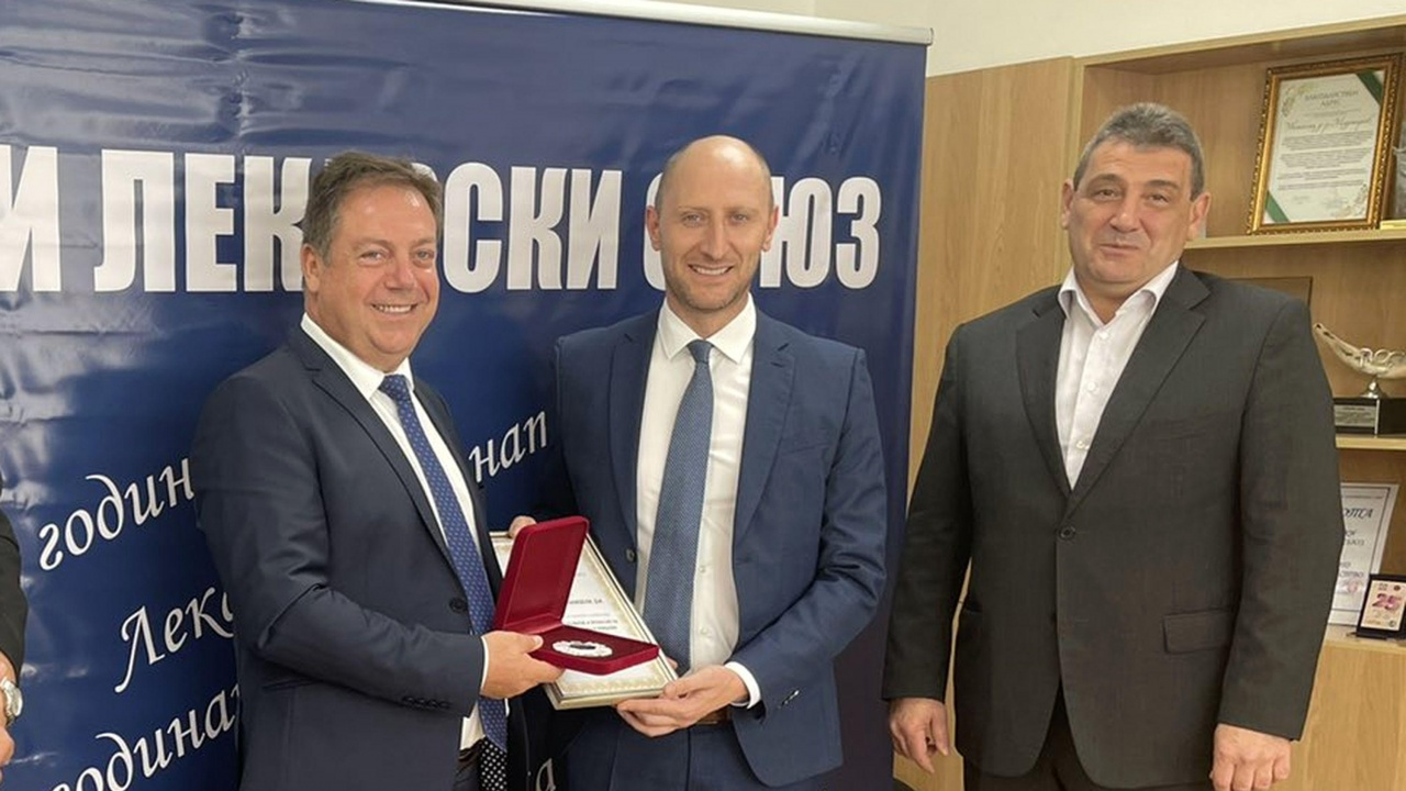 Варненски лекар спечели престижна награда на Лекарския съюз