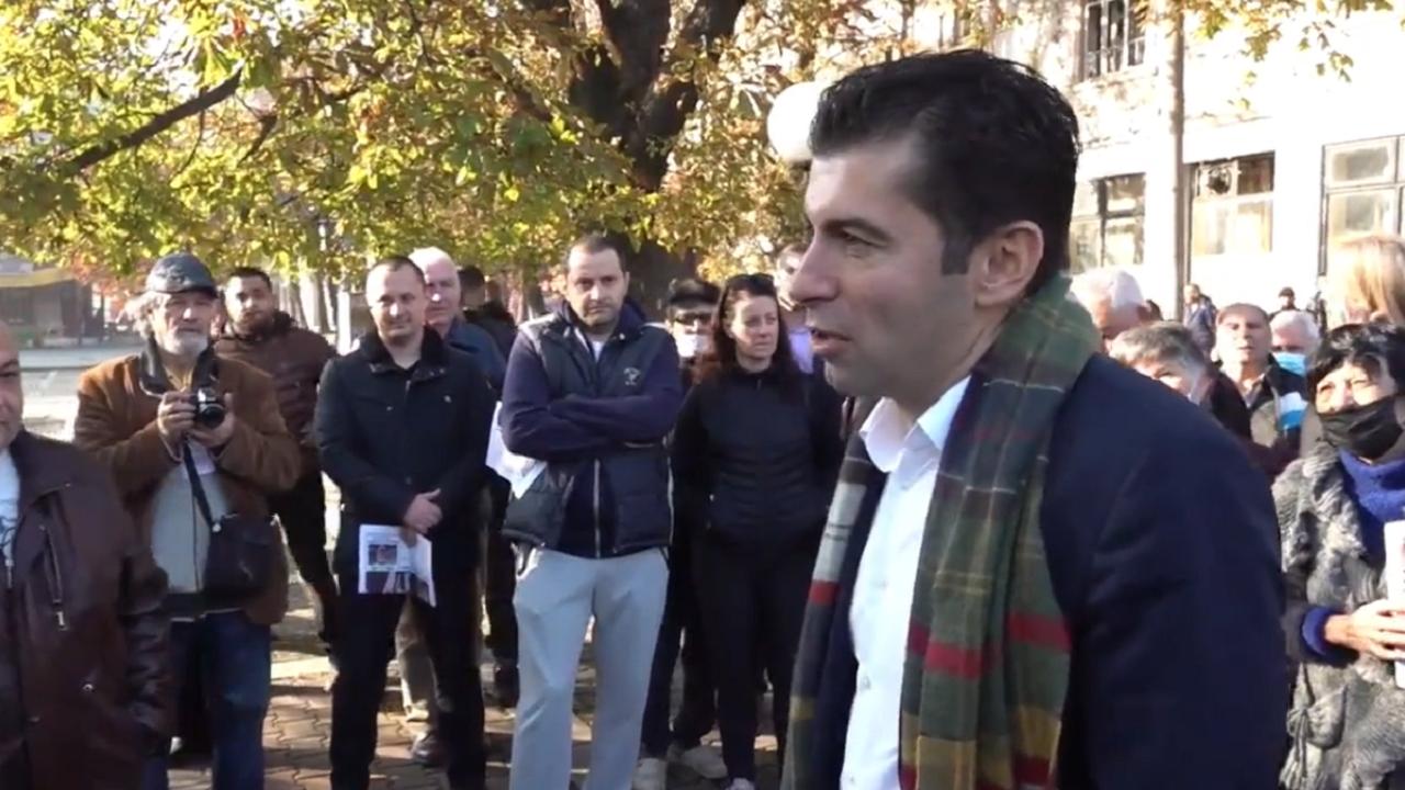 Кирил Петков в Горна Оряховица: С ясна визия сме как да спрем парите на всичките крадци