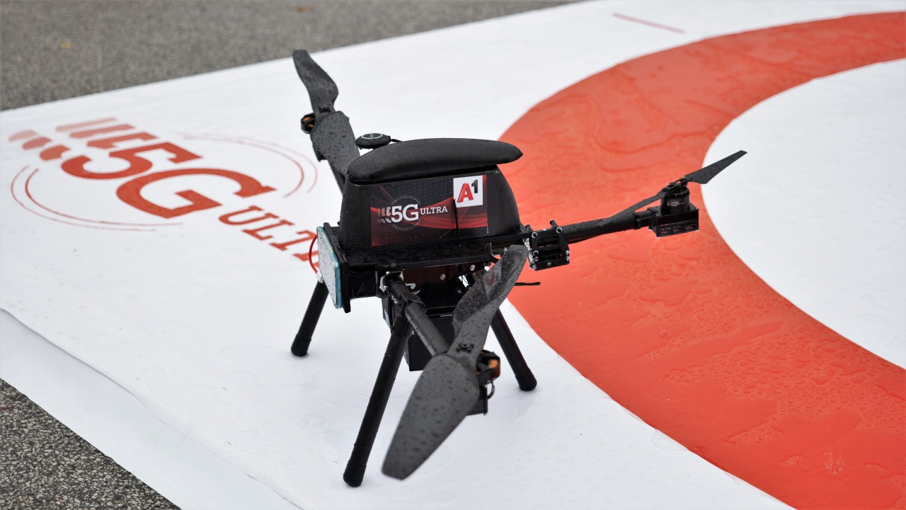 Бъдещето на безпилотните летателни апарати през 5G вече е тук