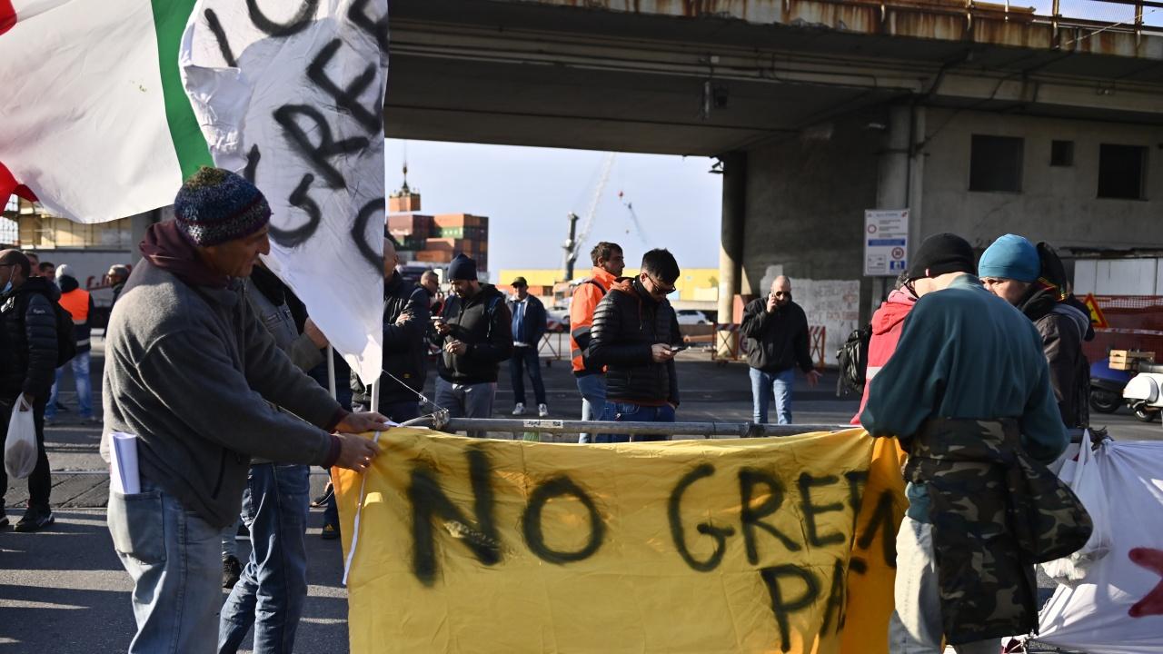 Нови протести в Любляна против мерките и зелените сертификати