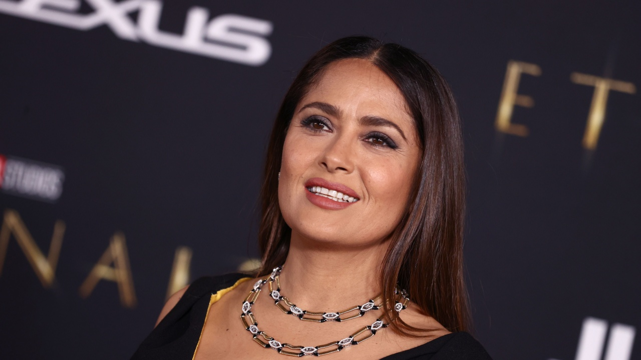 Салма Хайек показа дъщеря си