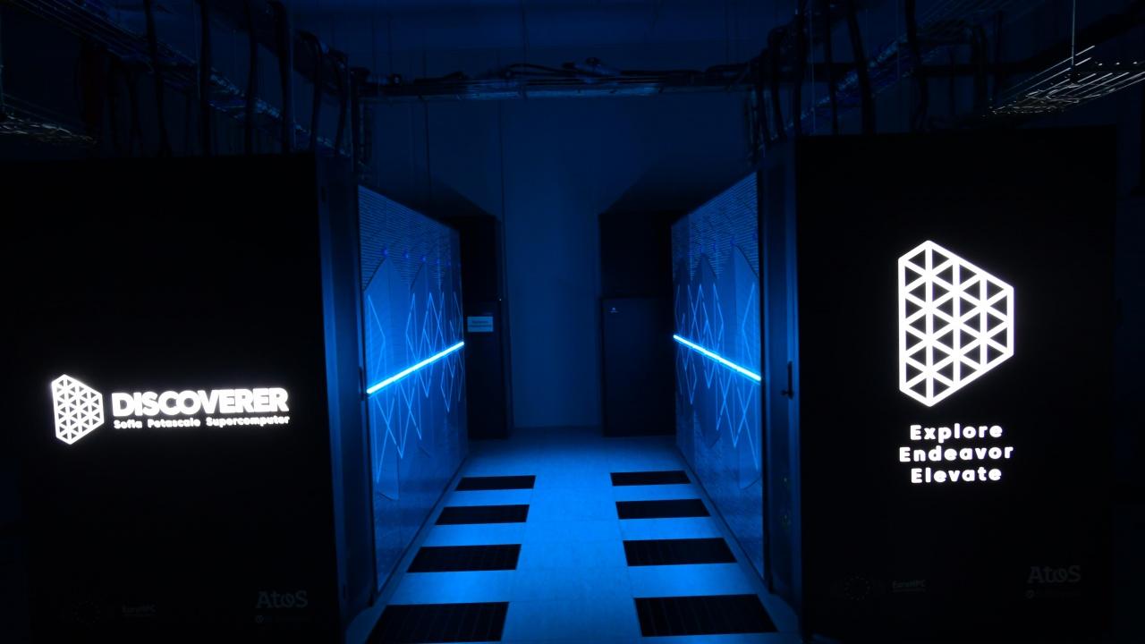 """Българският суперкомпютър """"Discoverer"""" на 91-во място в света по изчислителна мощ"""