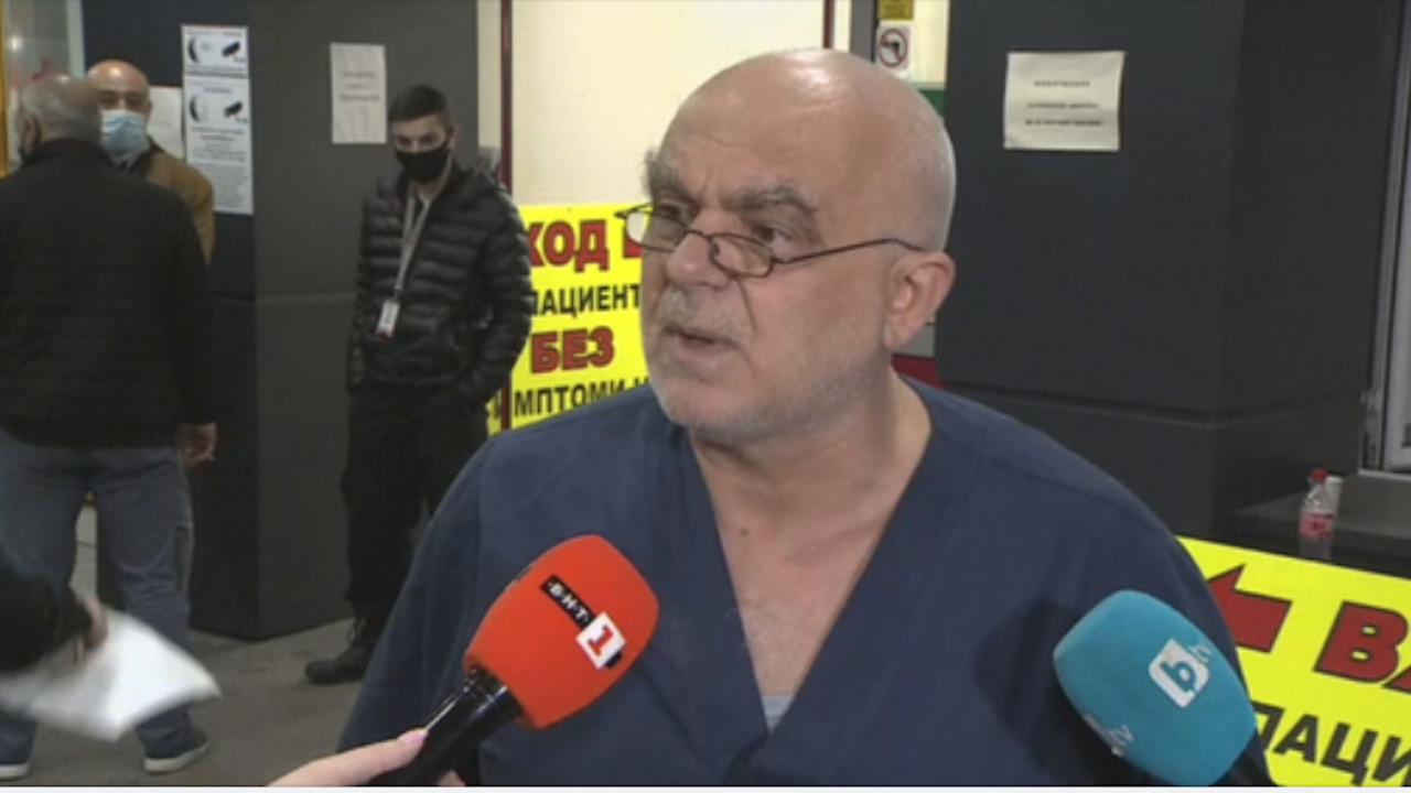 """Шефът на COVID отделението в """"Пирогов"""": Идеолозите на новата заповед да заповядат да лекуват"""