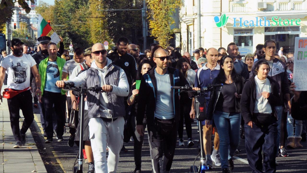 Четвърти ден на протести срещу зелените сертификати в Бургас
