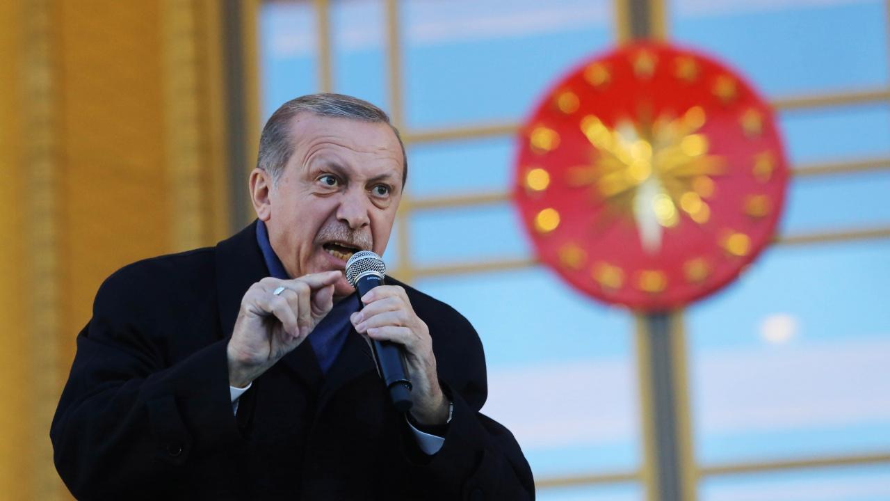 Ердоган нареди 10 посланици да бъдат изгонени от Турция