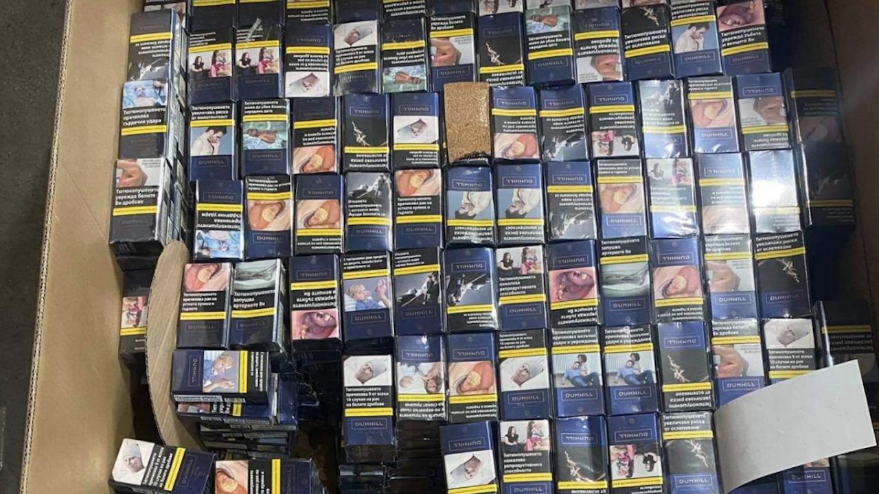"""Митнически служители задържаха 318 000 къса цигари на ГКПП """"Дунав мост 2"""""""