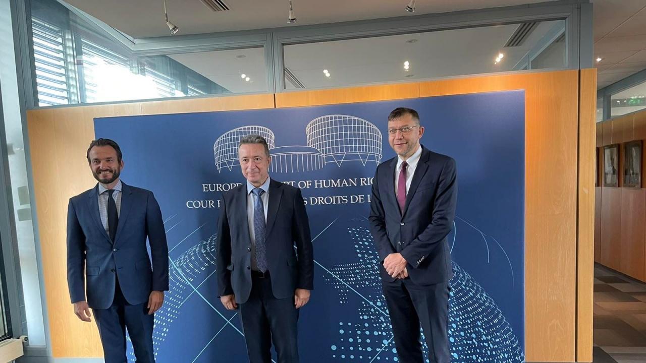 Янаки Стоилов се срещна с председателя на Венецианската комисия и председателя на Европейския съд по правата на човека
