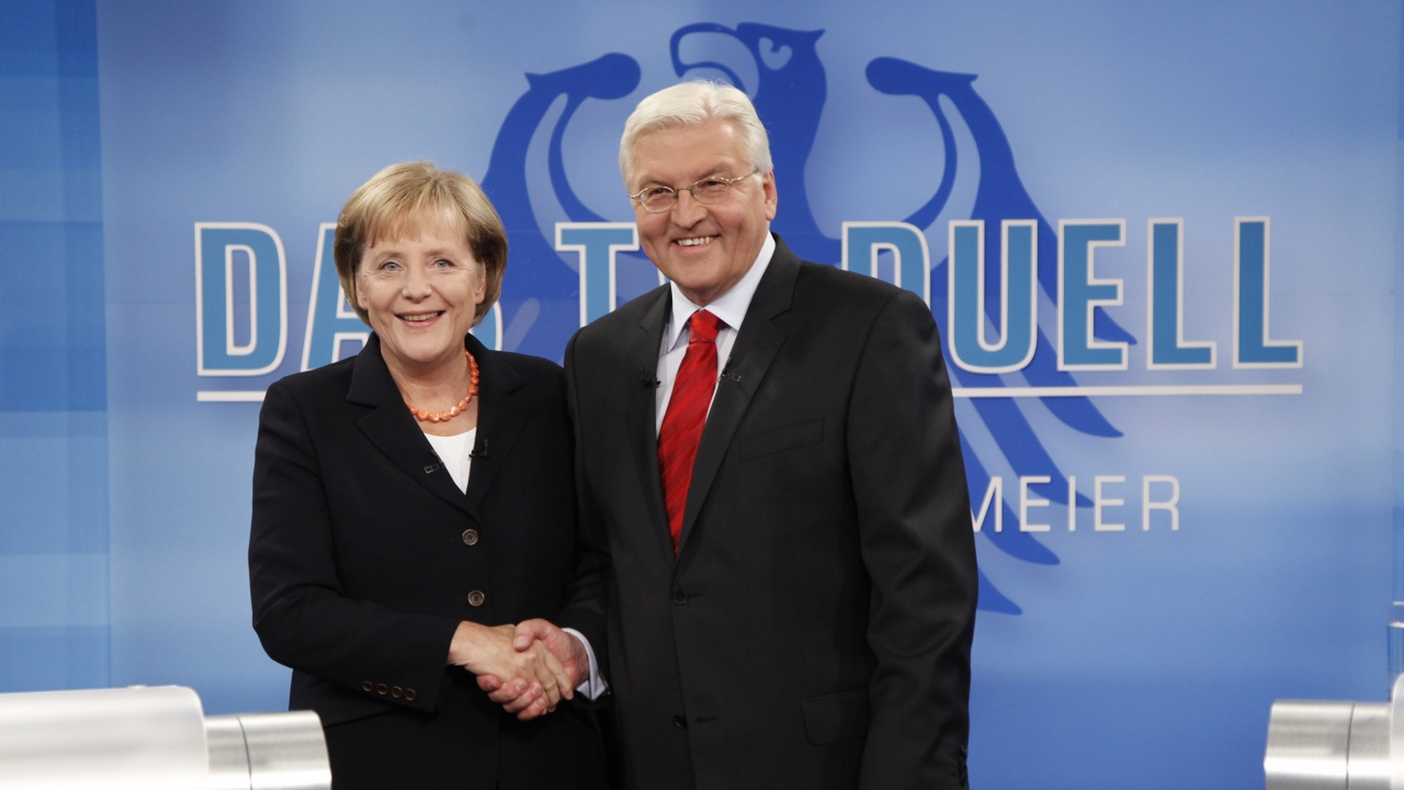 Щайнмайер освободи Меркел от канцлерския пост