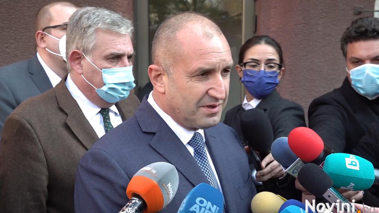Румен Радев: Защо Борисов саботира ваксинационния процес с манипулативни изказвания?