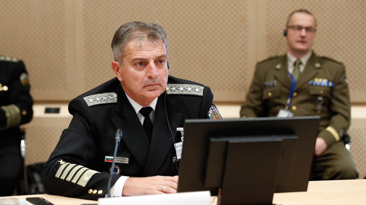 Началникът на отбраната: Стратегическият компас е отлична платформа за фокусиране усилията за изграждането на ЕС като активен фактор по сигурността