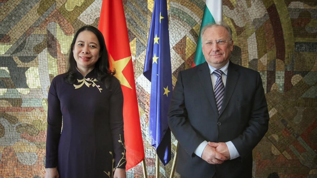 България и Виетнам ще работят за задълбочаване на сътрудничеството в сфери от взаимен интерес