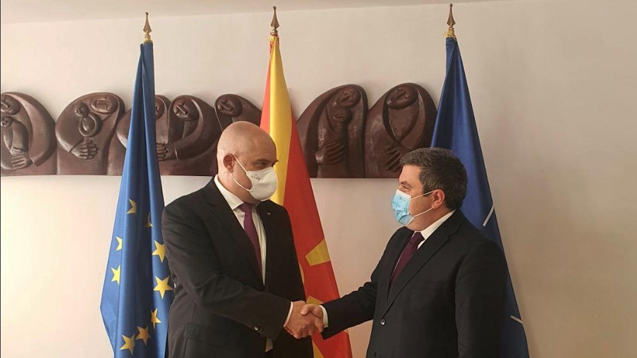Гешеве на официално посещение в Република Северна Македония