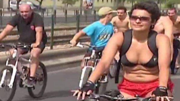 Велопоход без дрехи в Португалия