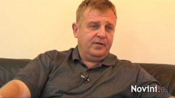 Красимир Каракачанов пред Novini.bg: На Волен Сидеров му трябва психиатър