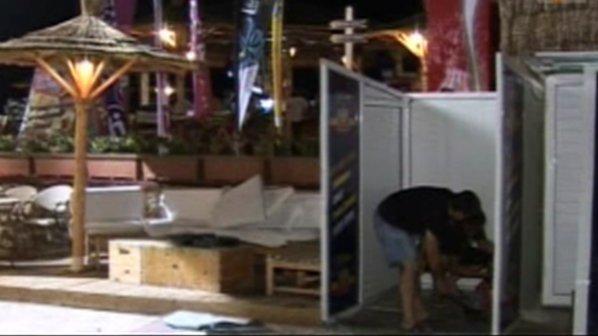 Събориха над 15 незаконни постройки в Слънчев бряг