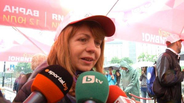 """Йорданка Фандъкова: Важно е хората да спортуват, """"Живей активно"""" го показва"""
