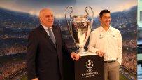 Левон Хампарцумян: Горди сме да подпомагаме UEFA Champions League
