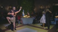 Обама завъртя страстно танго с гореща танцьорка