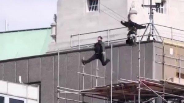 """Том Круз пострада при каскада за """"Мисията невъзможна-6"""""""