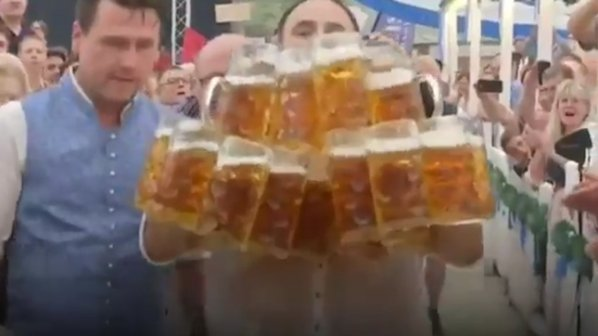 Германец подобри личен бирен рекорд